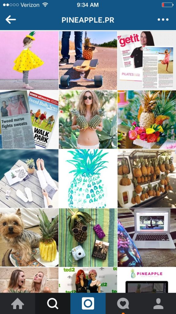 instagram accounts that stand out
