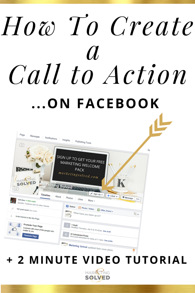 How to add a Facebook Call To Action