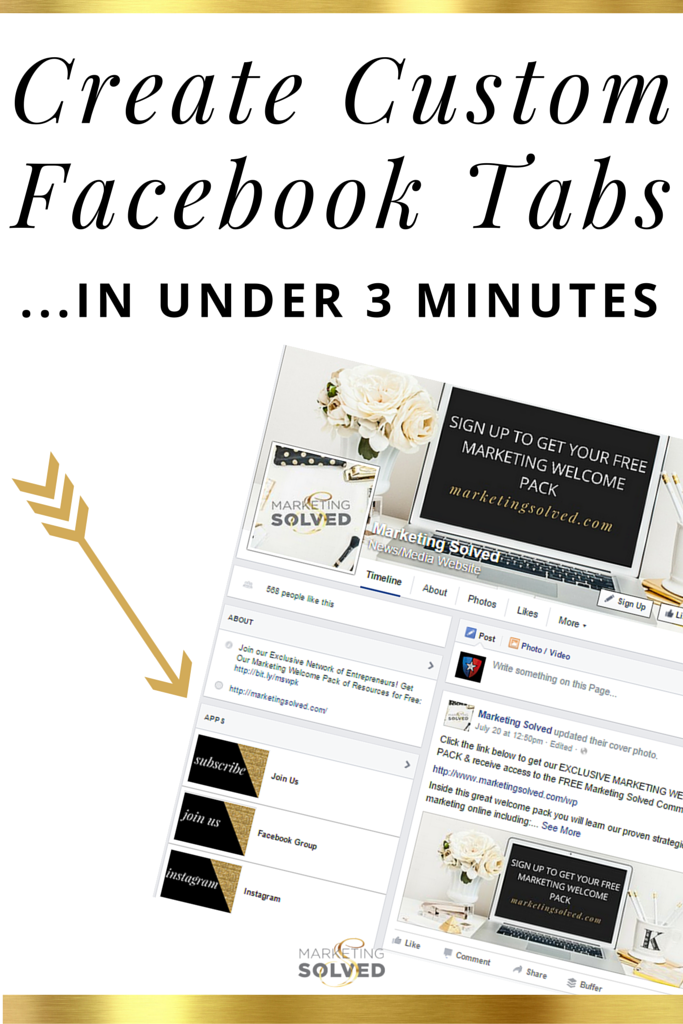 How to add facebook custom tabs