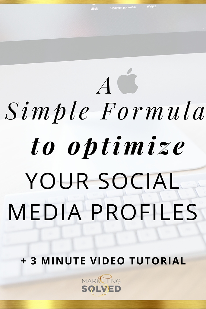 optimize profiles