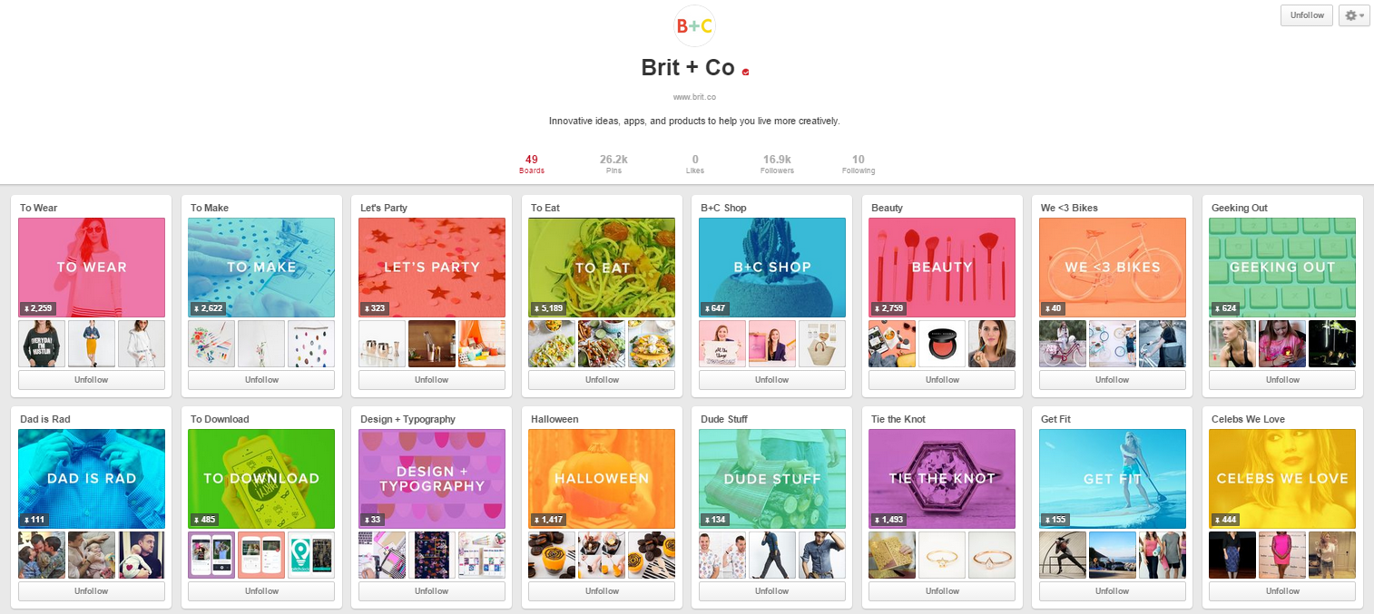 brit and co pinterest