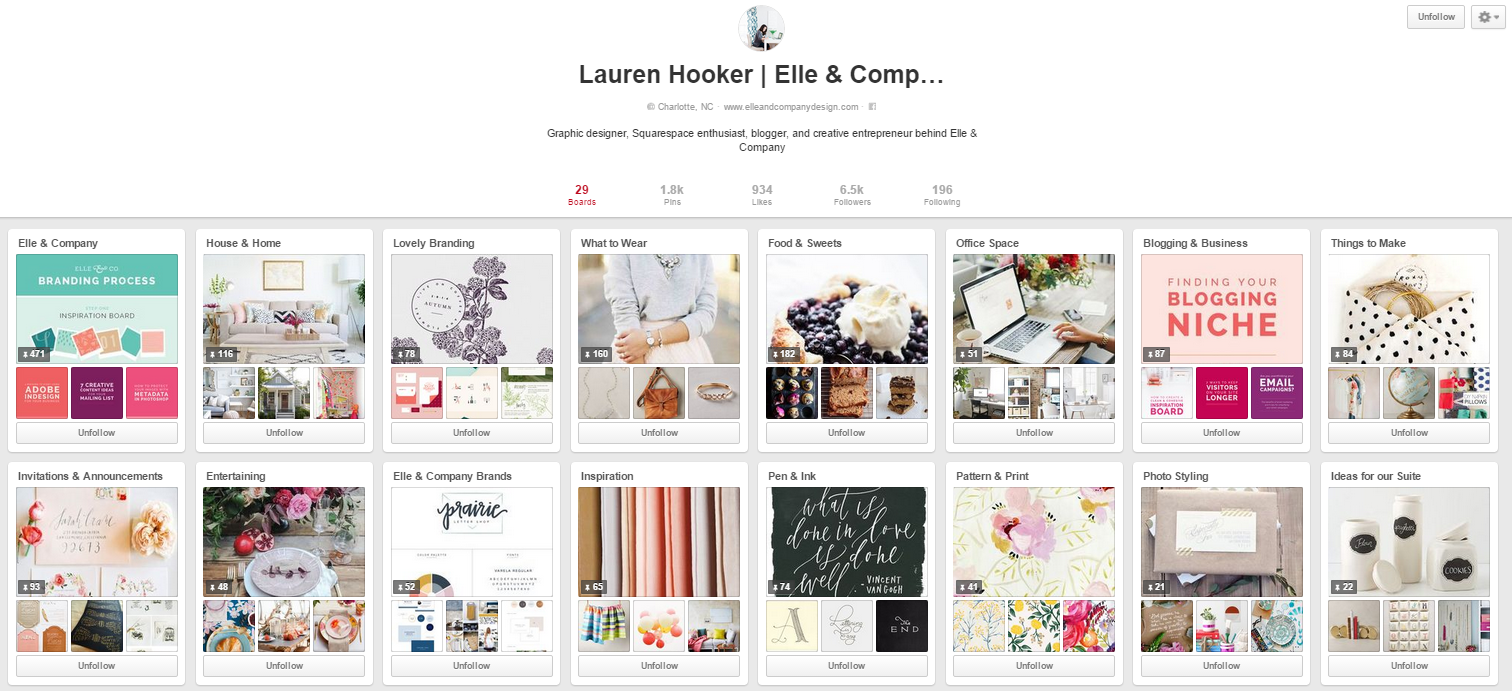 elle and company pinterest