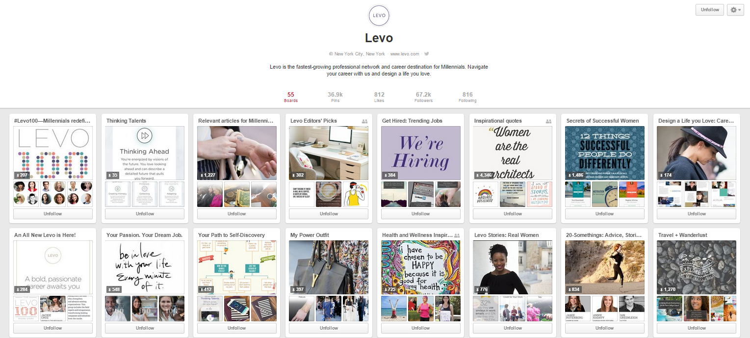 levo league pinterest