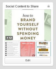 Pinterest Secret Board Social Media Strategy