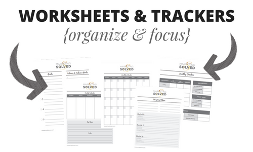 mms worksheets