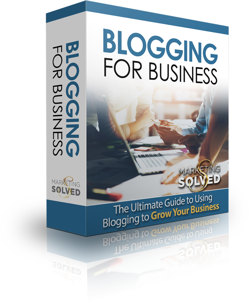 Blogging for Business 00