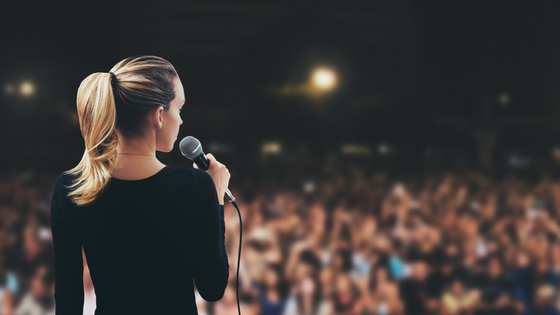 Public Speaking – It's not about you, it's about them