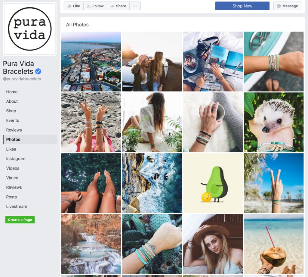 Pura Vida Social Media Branded Graphics