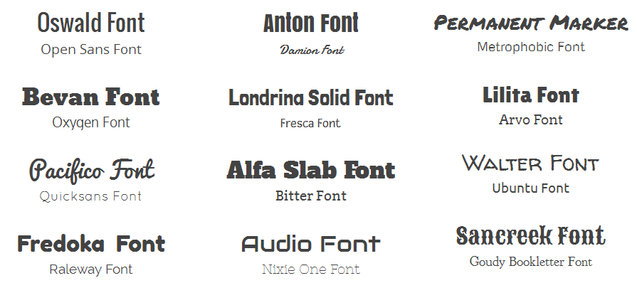 How to pick a font for social media branding