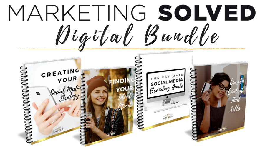 Marketing Solved Digital Bundle