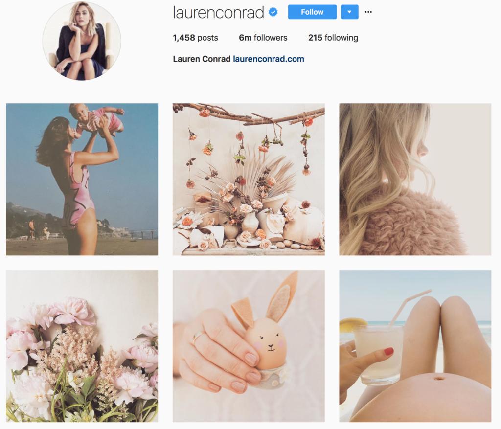 Lauren Conrad Instagram