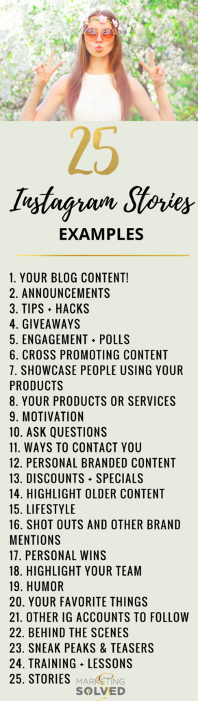 25 Instagram Stories You Should Be Creating // Instagram Stories // Instagram Content Ideas // Instagram Stories Content Ideas // Instagram Stories Examples // 25 Instagram Story Examples // Instagram Stories // Instagram Stories Tips
