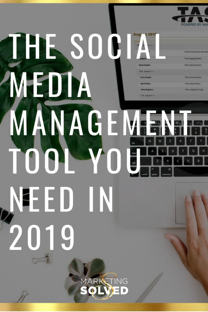 The Social Media Management Tool You Need in 2019 // Social Media Software // Social Media Scheduler // social media management tool
