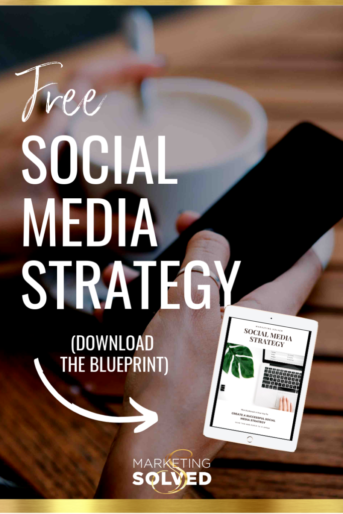 Free Social Media Strategy Blueprint // Download this Free Social Media Strategy Guide // Free Social Media Marketing Plan
