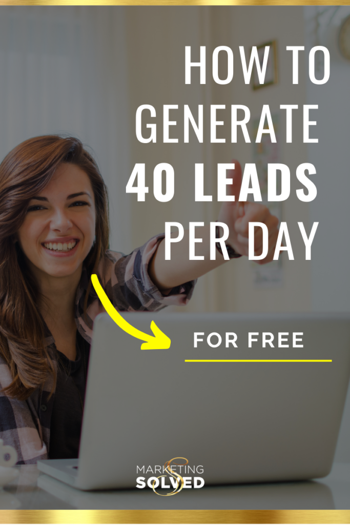 How to Generate 40 Leads Per Day For Free // Email List Building //How to Grow Your Email List