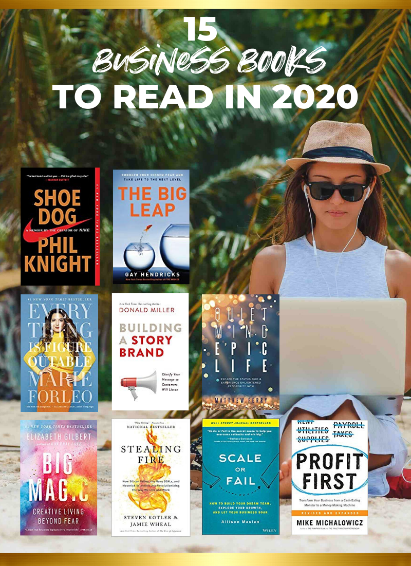 15 Business Books to Read in 2020 // Business Books Entrepreneur //
