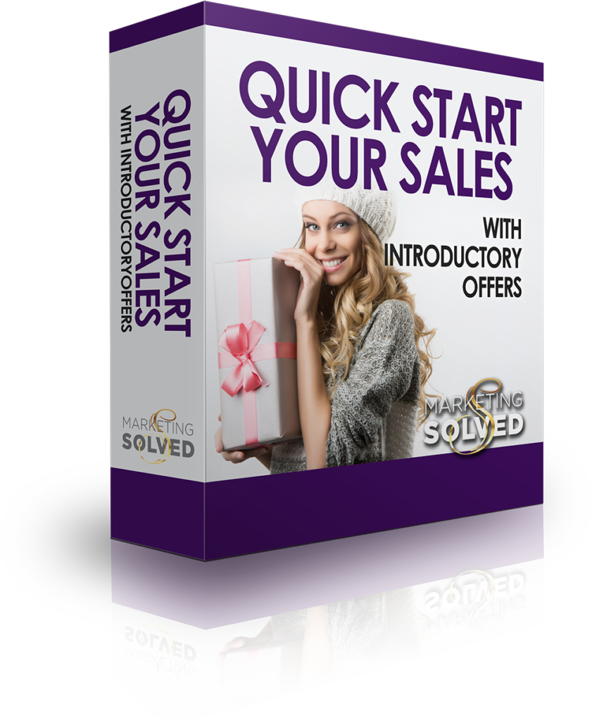 Quick Start Your Sales with Intro Products