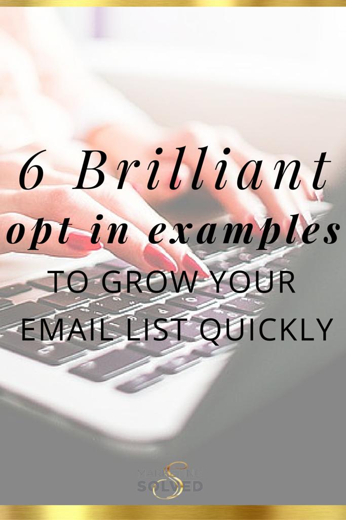 6 brilliant opt in examples