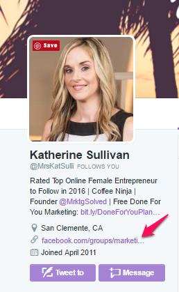 Twitter Profile Katherine Sullivan
