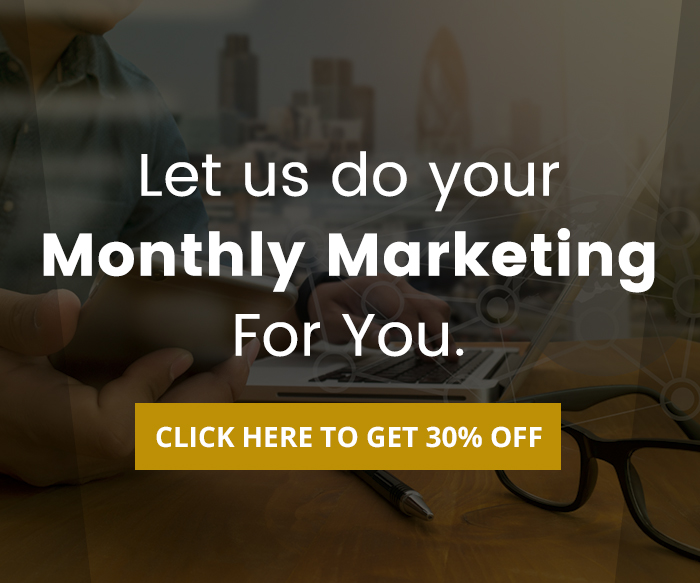 Monthly Marketing Solved