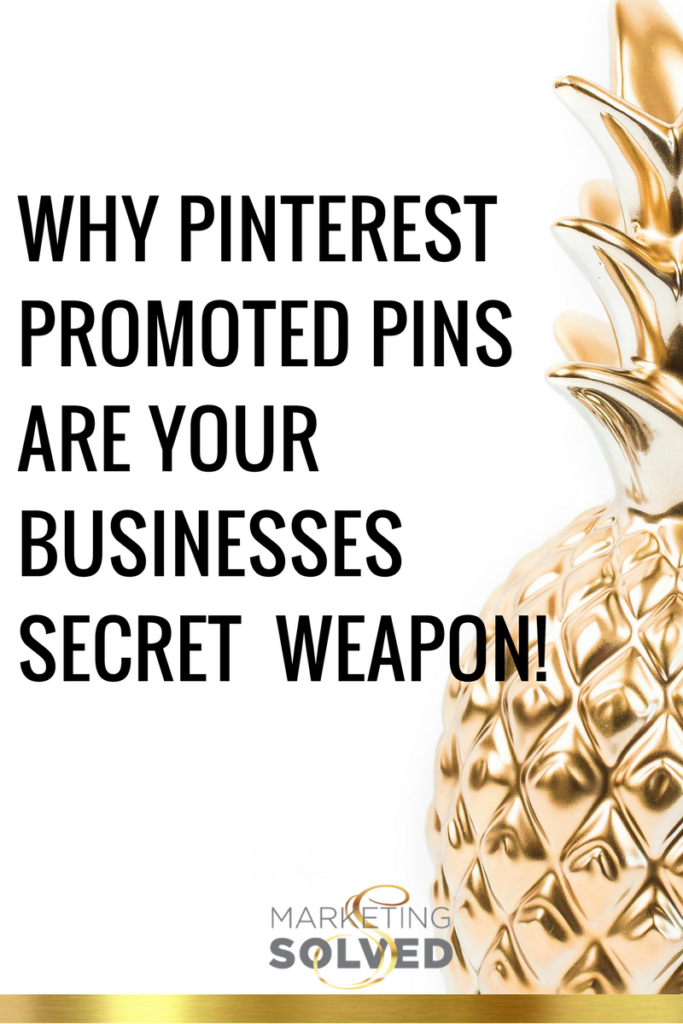 Why Pinterest Promoted Pins Are Your Businesses Secret Weapon