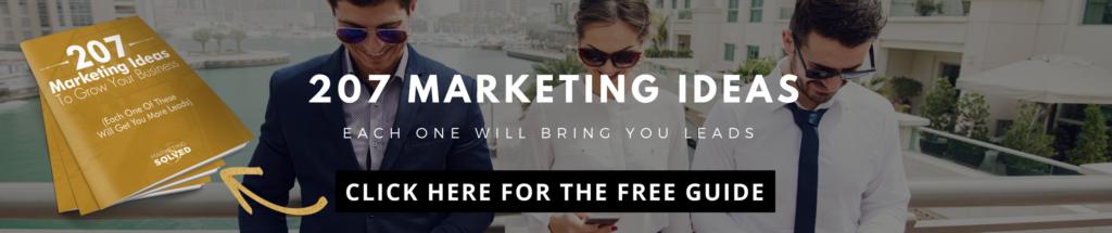 207 Marketing Ideas