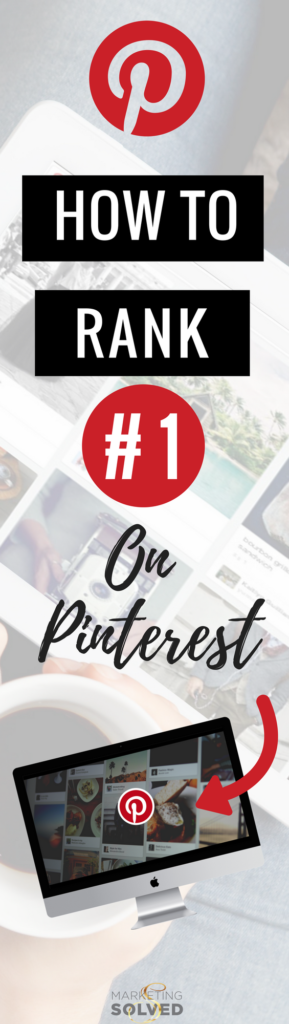 How to Rank #1 on Pinterest // Tutorial to rank #1 on Pinterest // How to Drive Traffic to Your Website with Pinterest // Pinterest Ranking Hacks // How to use Pinterest to market your business // How to Rank Keywords on Pinterest // How to Use Keywords to Rank on Pinterest