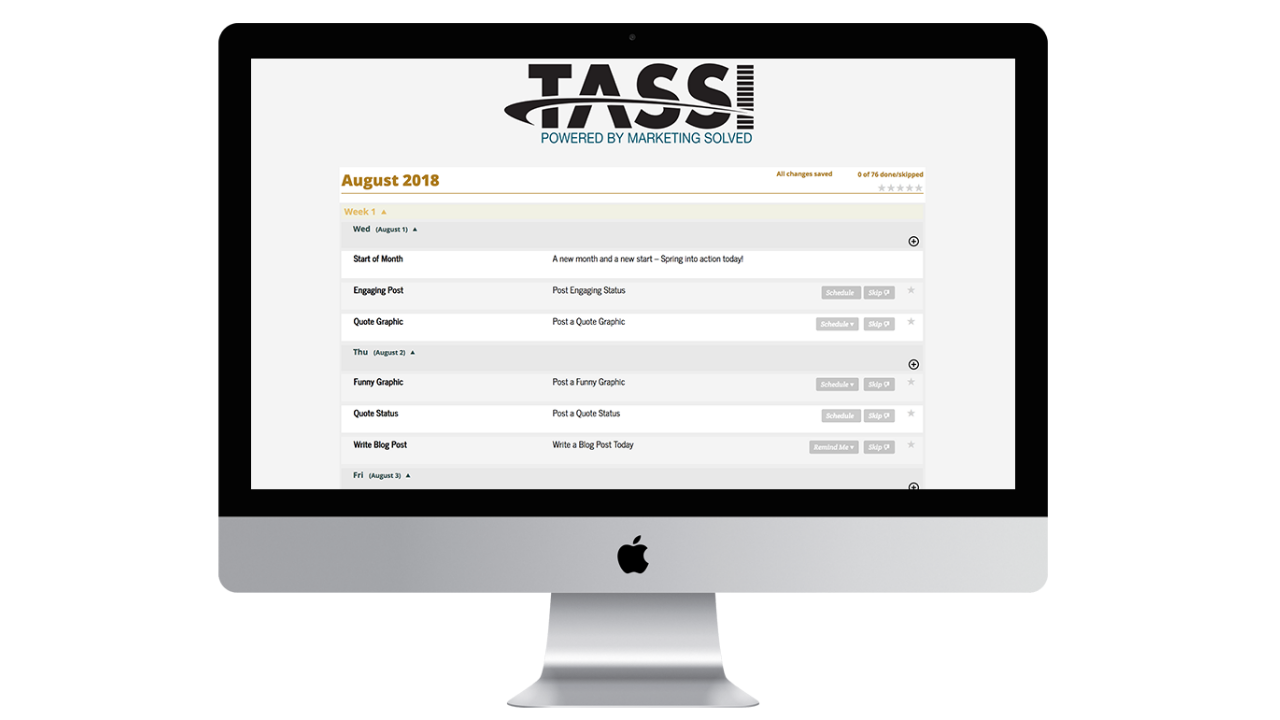 TASSI: The Best Social Media Scheduler for Small Businesses