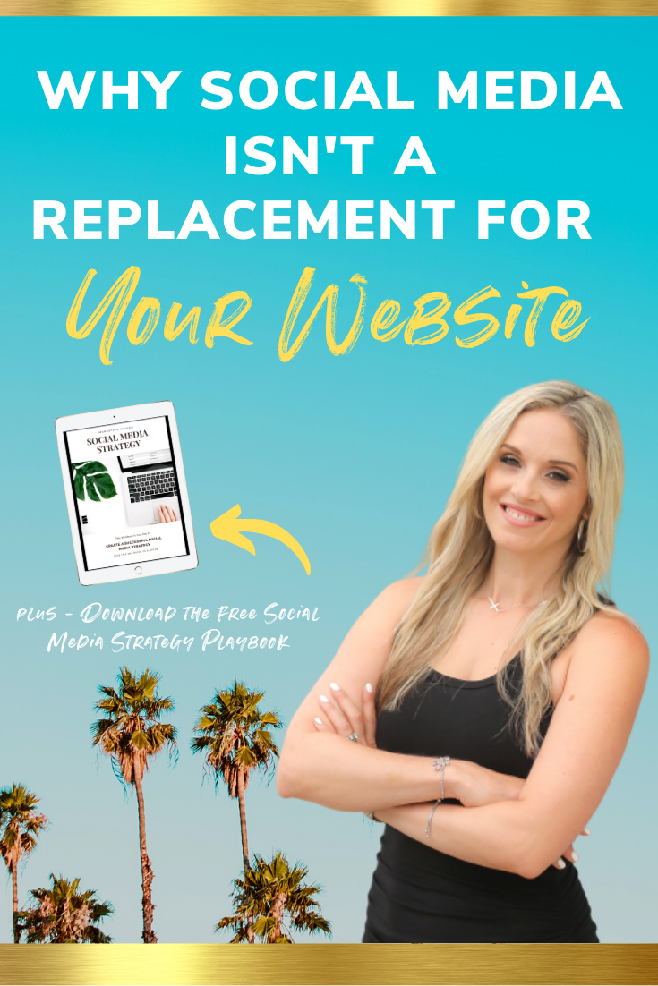 Social Media Is Not A Replacement For Your Website // Do I need a Website? / Why do you need a website?
