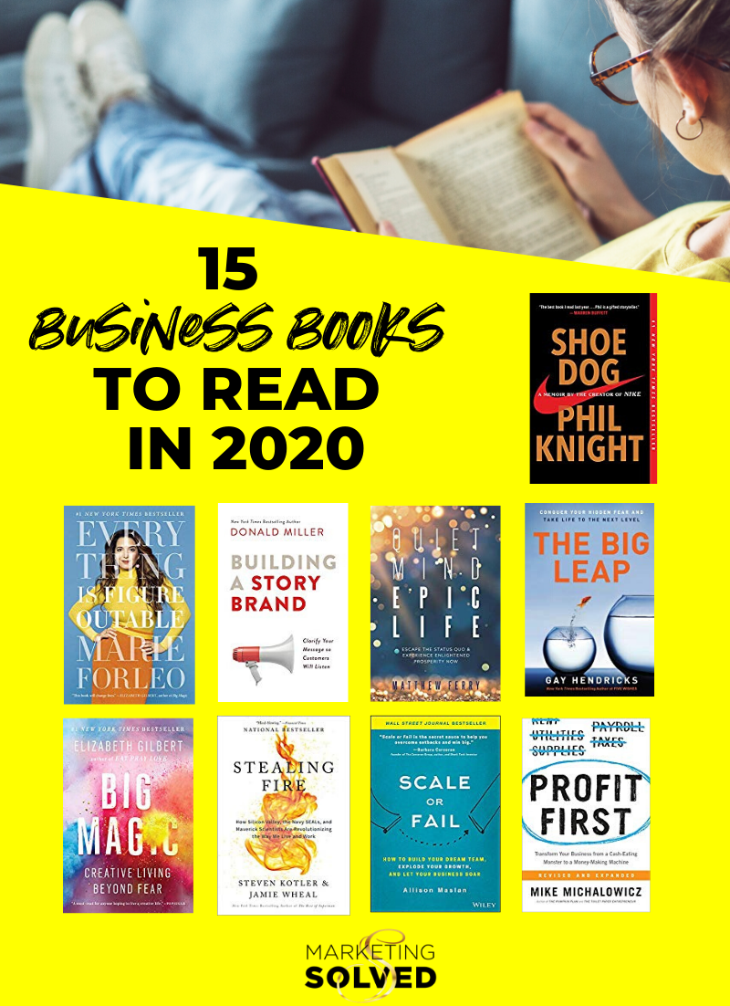15 Business Books to Read in 2020 // Business Books //