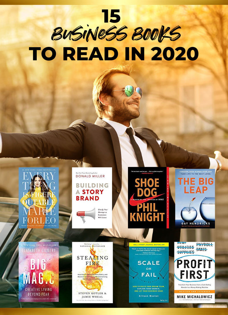 15 Business Books to Read in 2020 // Business Books 2020