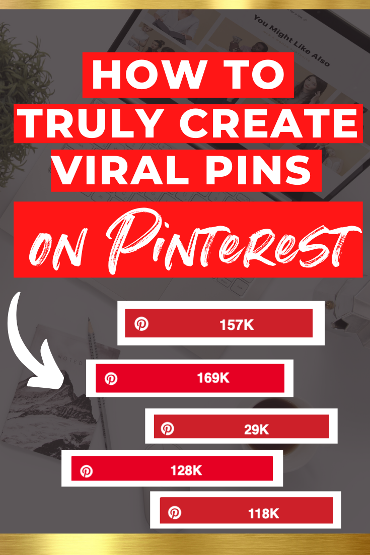 How to Create Viral Pins on Pinterest // How to go viral // Viral Pins // Viral Pinterest Pins #Pinterestmarketing #ViralPinterestPins #pinterestmarketing #pinteresttips #pinterestmarketingstrategies #socialmedia #marketing #marketingstrategies #pinterestforbusiness #pinterestforbeginners