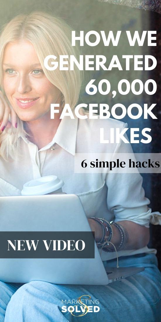 How We Generated 60,000 Facebook Likes (6 SIMPLE HACKS) #FacebookPageLikes #FacebookMarketing #FacebookLikes #GrowFacebookPage
